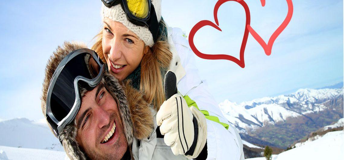 san valentino sulla neve